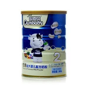 欧恩贝金装较大婴儿配方奶粉2段800g