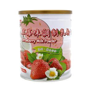广吉草莓味调制乳粉900g