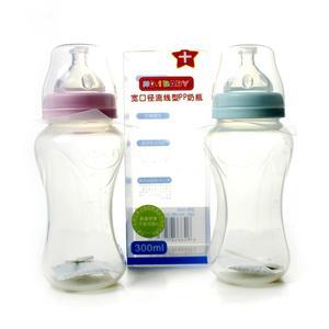 NO.1BABY宽口径流线型PP奶瓶300ML