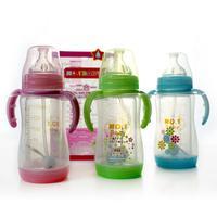 NO.1BABY安全玻璃奶瓶(二合一) 150ML