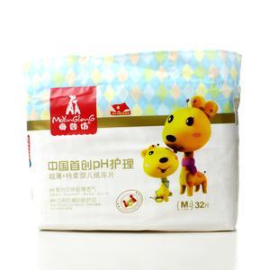母婴坊中国首创PH超薄特柔纸尿片 M号  32片
