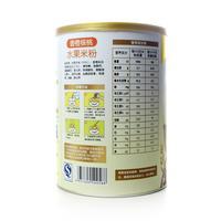 多多呗香橙核桃营养米粉(1段)500g听装(水果米粉)