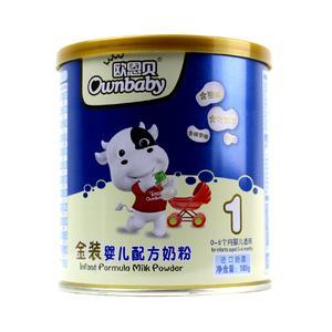 欧恩贝金装婴儿配方奶粉1段180g